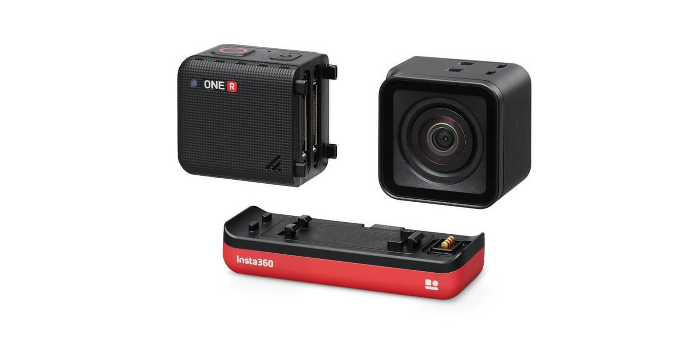 Экшн-камера Insta360 ONE R 4K модули