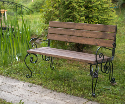 Садовая скамейка Praga 1,2 метра