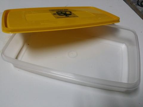 Контейнер с крышкой 2,7 литра