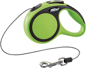 Рулетки Поводок-рулетка Flexi New Comfort XS (до 8 кг) трос 3 м черный/зеленый ea207eda-3794-11e6-80f8-00155d29080b.png