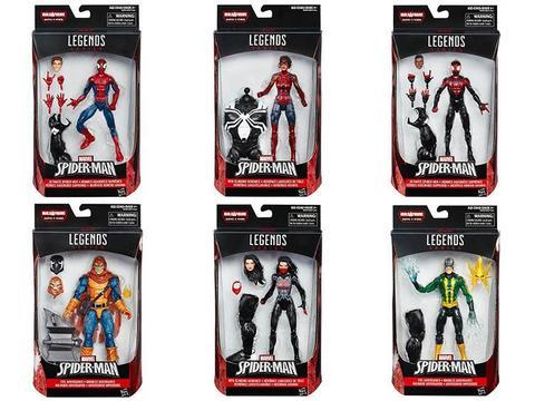 Марвел Легенд фигурки Человек паук Бесконечность серия 04 упаковка
