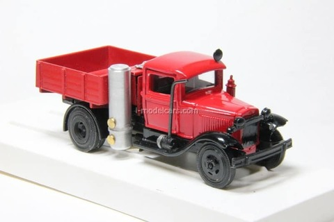 GAZ-42 fire engine gas generator LOMO-AVM 1:43