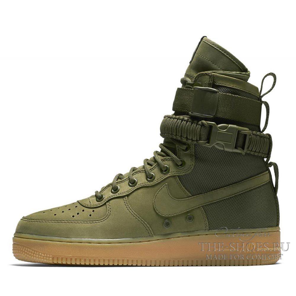 Nike Air Force 1 SF Olive Green