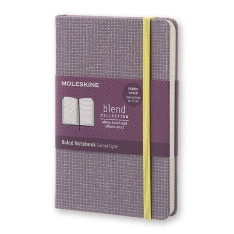 Блокнот Moleskine Limited Edition BLEND LCBDMM710H Pocket 90x140мм обложка текстиль 192стр. линейка фиолетовый
