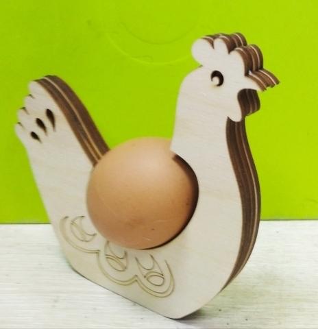 Курица подставка на одно яйцо