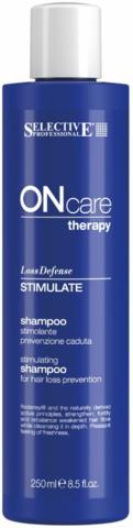Стимулирующий шампунь, предотвращающий выпадение волос, Selective Oncare Hair Loss ,250 мл