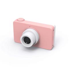 Фотоаппарат детский SmileZoom 24 Мп с чехлом с ушками / Зайчонок