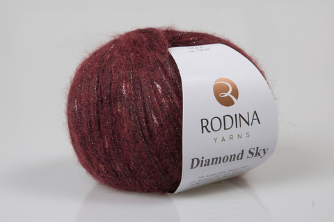 Пряжа DIAMOND SKY Rodina Yarns