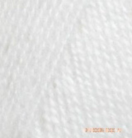Alize Angora REAL 40 PLUS 55 белый, фото