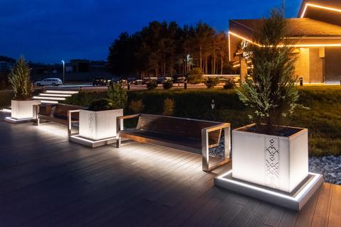 Sofa CITY with lights