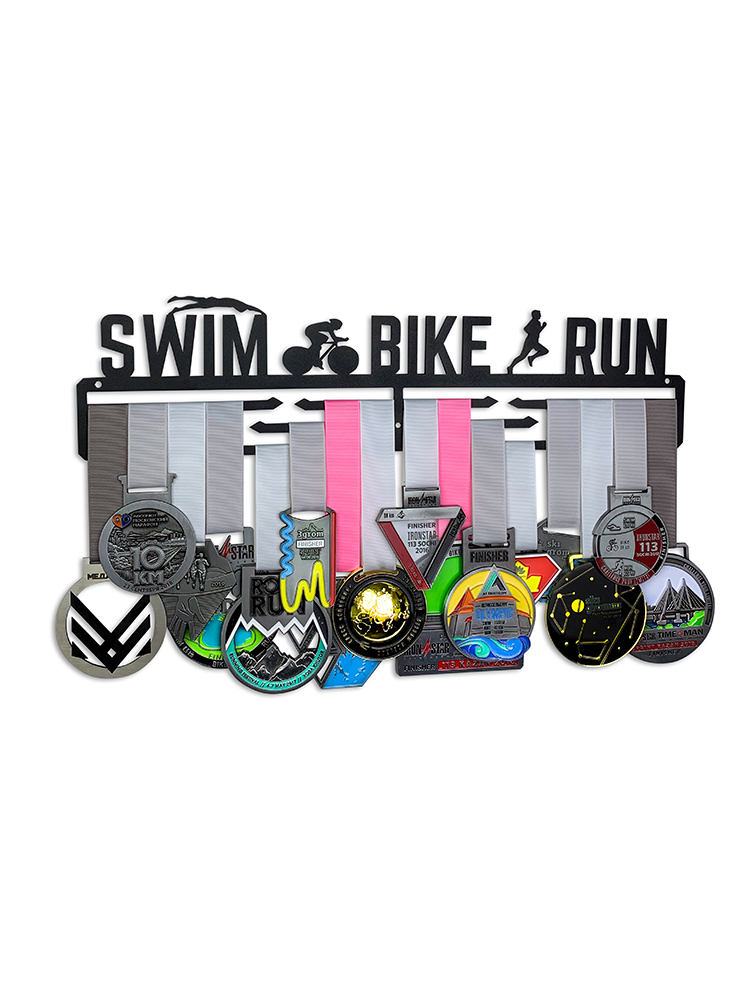 Медальница Swim bike run 3.0