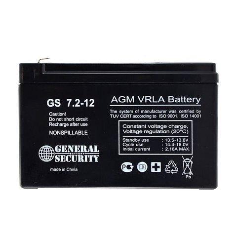 Аккумулятор GS  7 А/ч 12 В