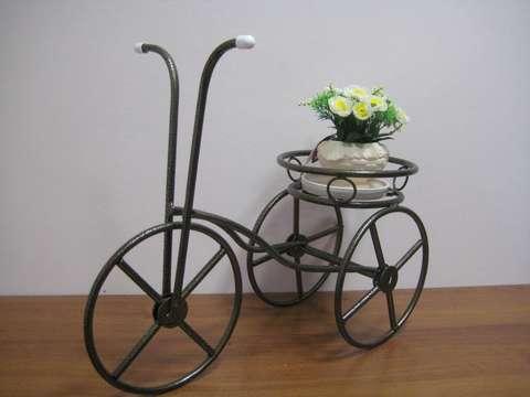 Подставка под цветы Велосипед малый