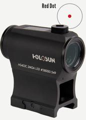 Holosun Paralow HS403C Red dot & Solar