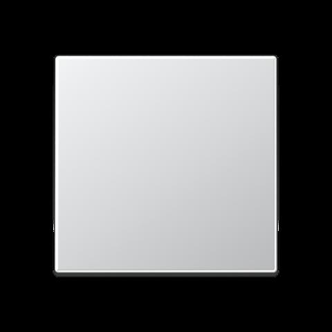 Выключатель одноклавишный проходного типа. 10 A / 250 B ~. Цвет Алюминий. JUNG A. 506U+A590AL