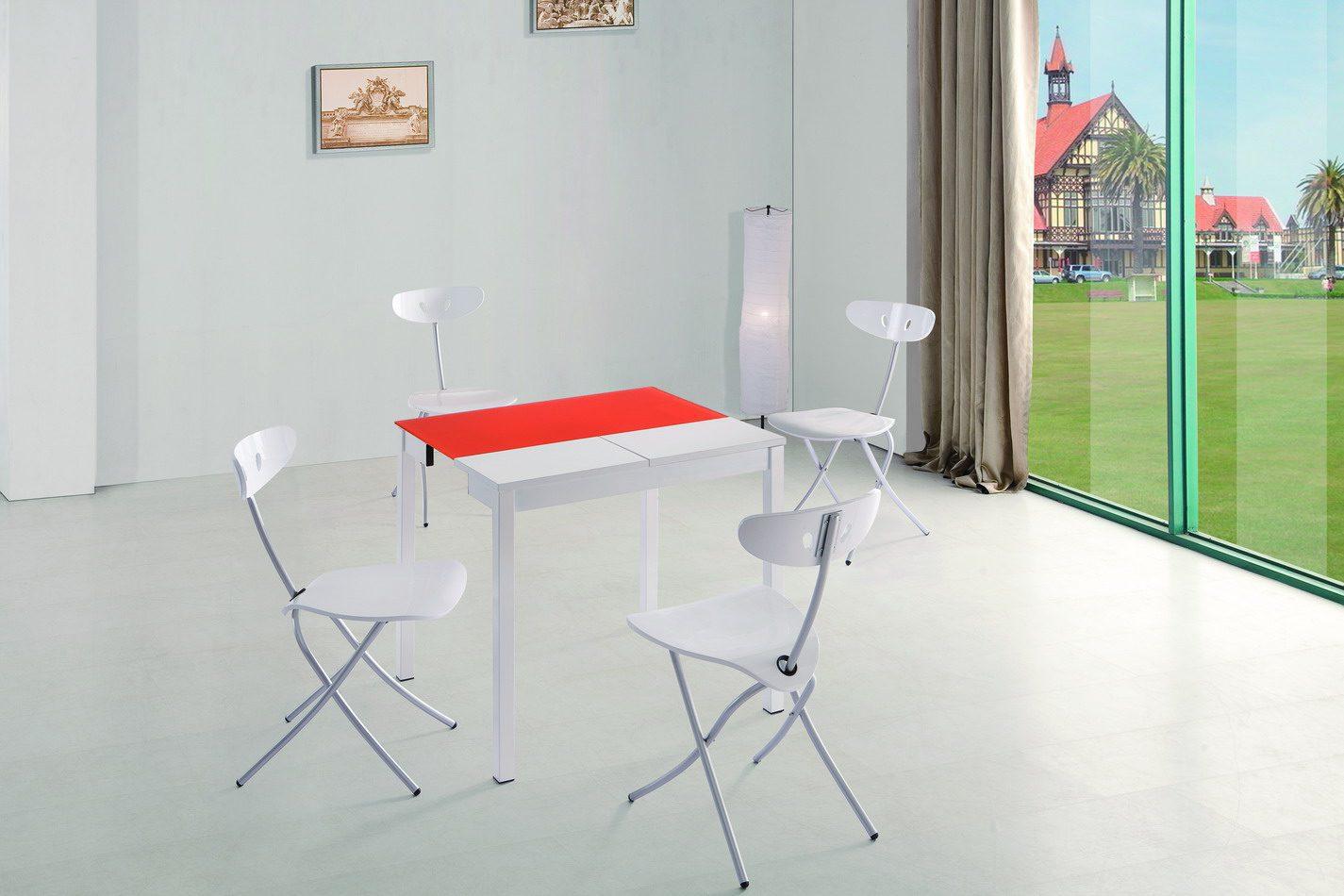 Стол ESF LT2221 оранжевый, Стулья ESF 3391