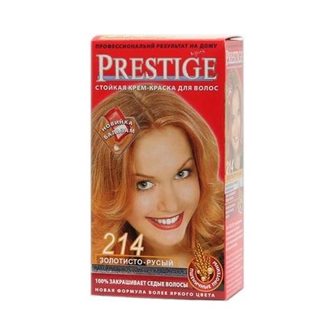 Краска для волос Prestige 214 - Золотисто-русый