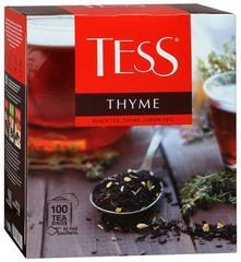 """Чай черный """"Tess"""" Thyme 100*1,8 г"""