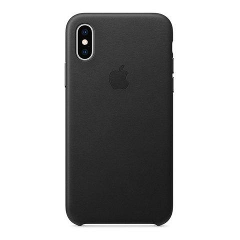 Чехол для iPhone XS Max - Кожаный (Leather Case)