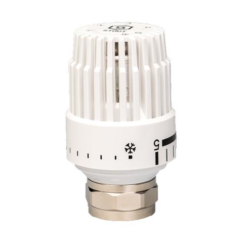 Головка термостатическая STOUT - M30x1.5 (регулировка 6-28°C, цвет белый)