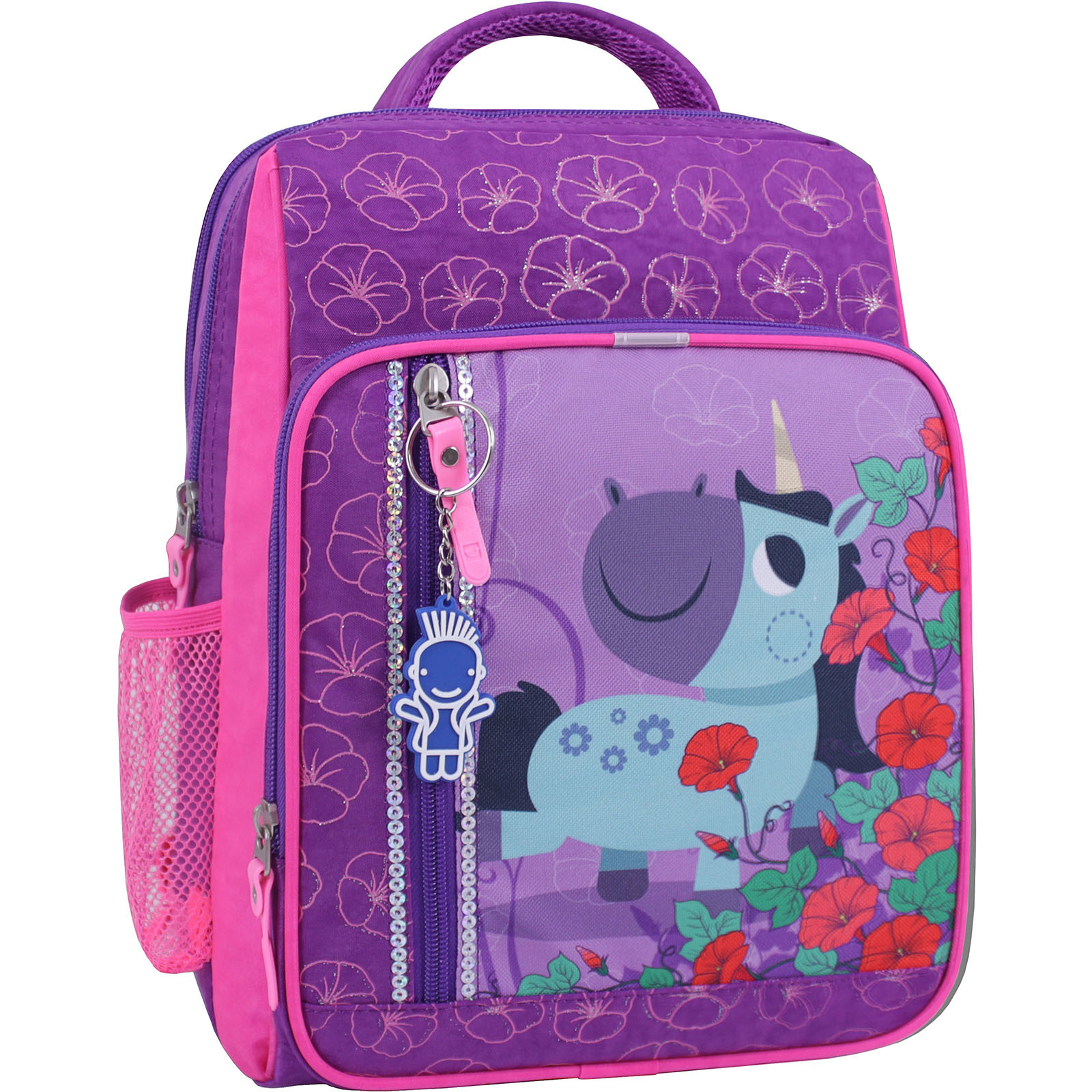 Детские рюкзаки Рюкзак школьный Bagland Школьник 8 л. фиолетовый 498 (0012870) IMG_1062_суб.498_.JPG