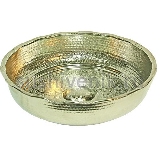 Чаша серебряная для хаммама