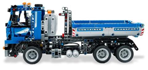 LEGO Technic: Контейнеровоз 8052 — Container Truck — Лего Техник