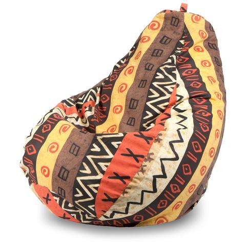 Бескаркасное кресло «Груша» L, Африкан