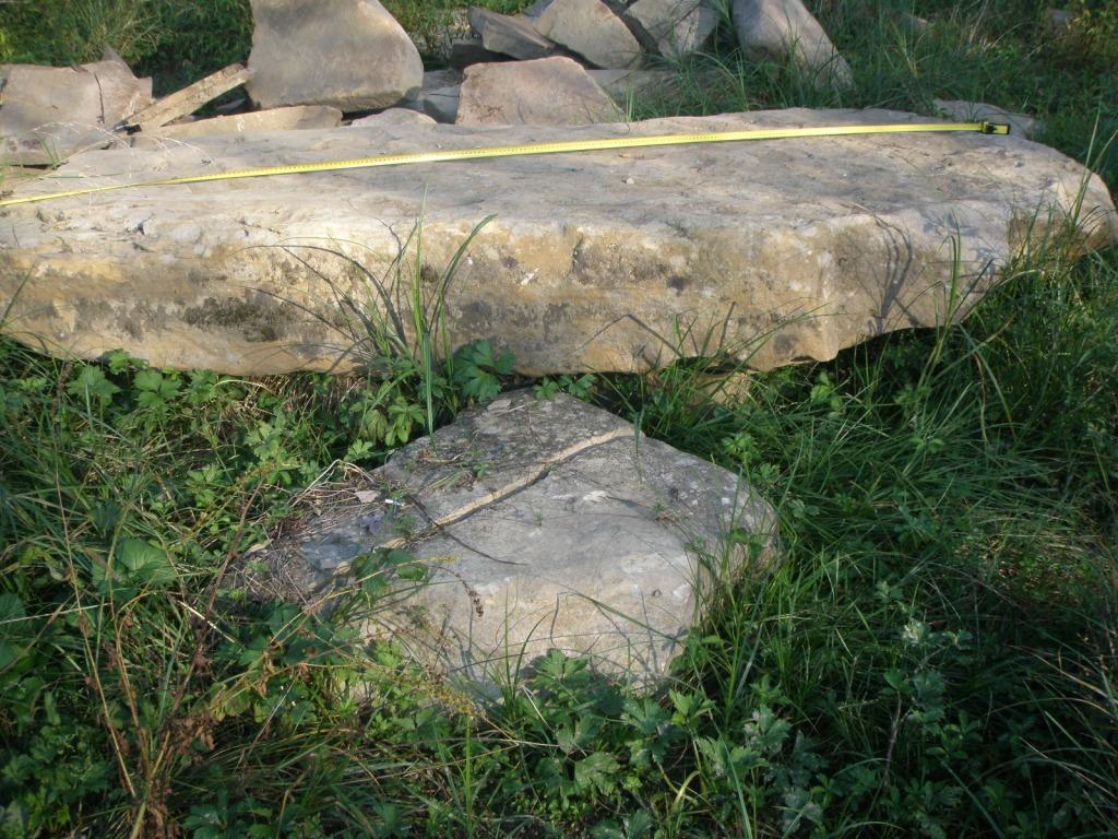 Мостик каменный речной Жёлтый длинный