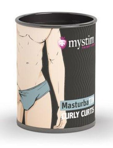 Компактный мастурбатор MasturbaTIN Curly Curtis