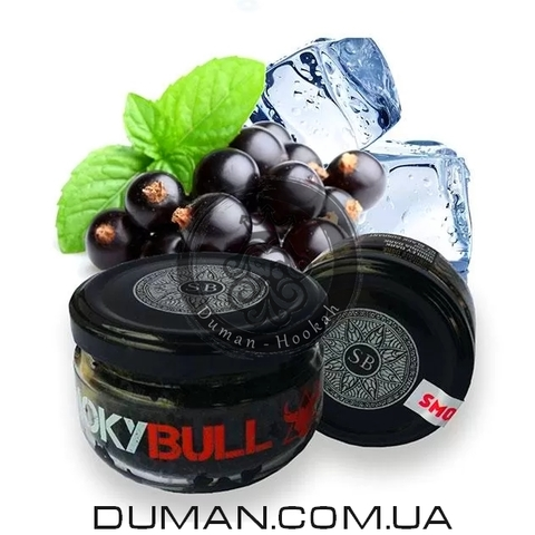 Табак Smoky Bull Ice Black Currant (Смоки Булл Лед Черная Смородина)  Medium