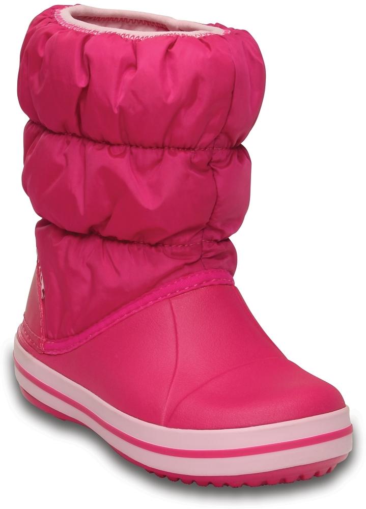 Розовые детские сапожки