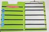 зеленый с черным планшет а4