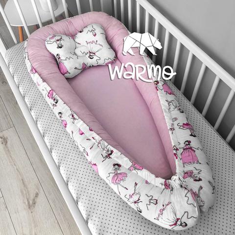 Кокон (гніздечко) для новонароджених Warmo ™ БАЛЕРИНИ
