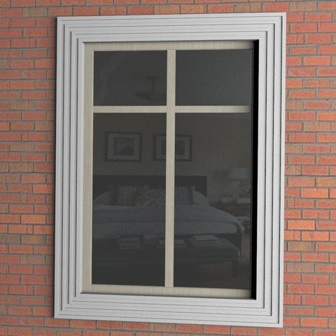 наличники на окнах