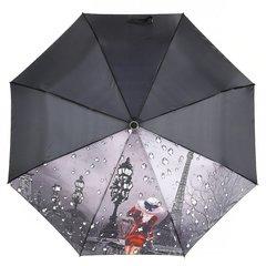 Зонт женский, город с каплями, Planet PL-154-3