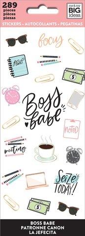Блокнот со стикерами-Happy Planner Sticker Sheets- Boss Babe, 289 шт