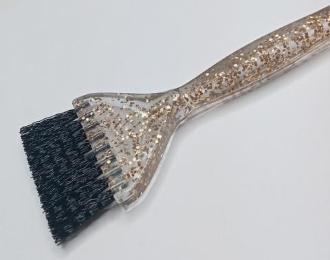 Кисточка Ставвер Голд для окрашивания с черным ворсом 21,5*4,5см