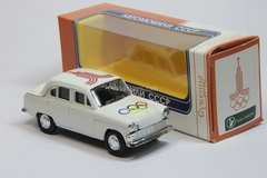 Moskvich-403 Moscow-80 version 2 Agat Mossar Tantal 1:43