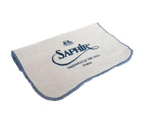 Салфетка для полировки и нанесения крема (с логотипом),sphr2501 Saphir, хлопок
