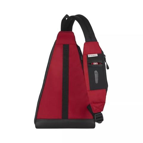 Рюкзак Victorinox Altmont Original, с одним плечевым ремнём, красный, 25x14x43 см, 7 л