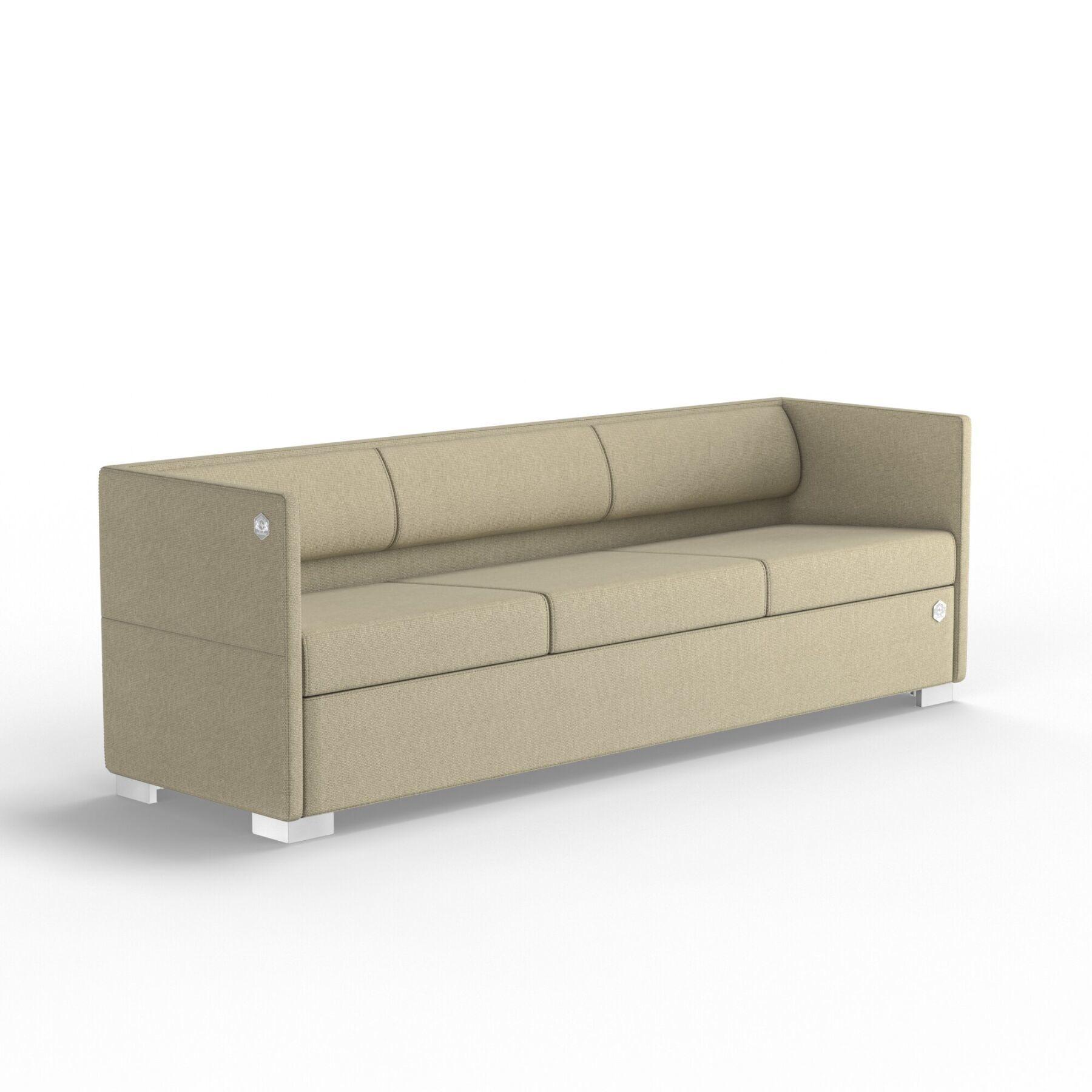 Трехместный диван KULIK SYSTEM LOUNGE Ткань 3