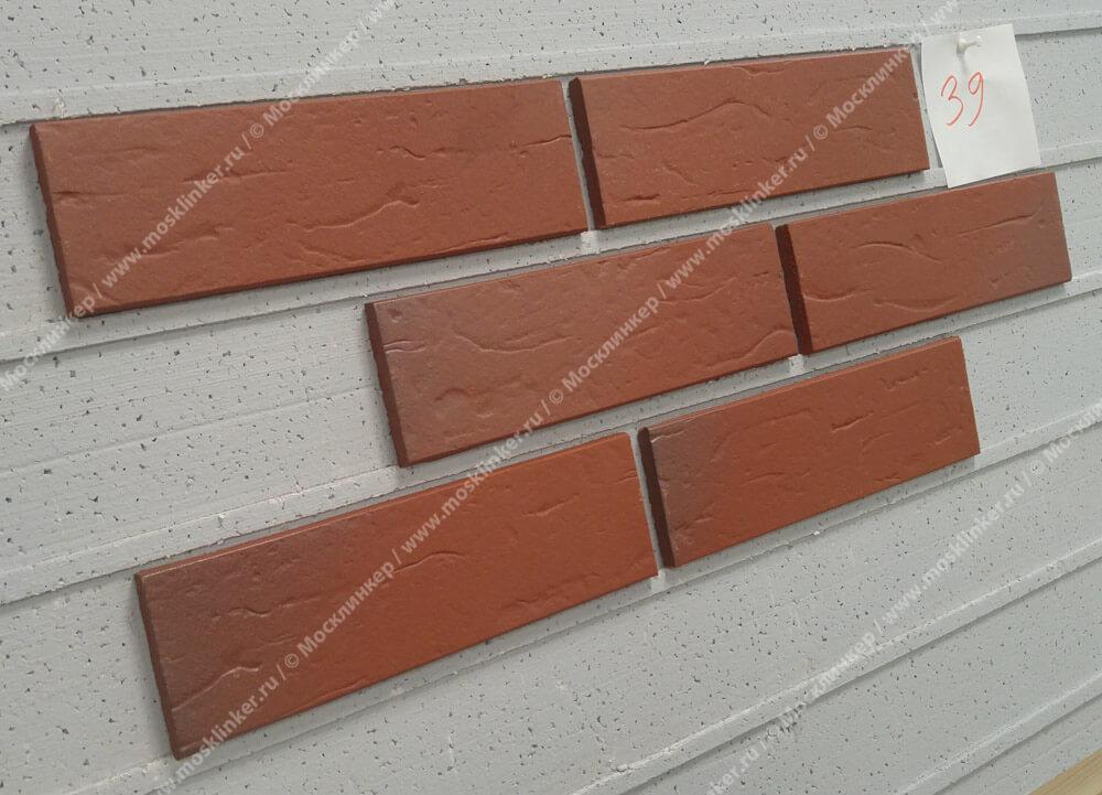 ABC - Nordkap, genarbt, 240х71х10, NF - Клинкерная плитка для фасада и внутренней отделки