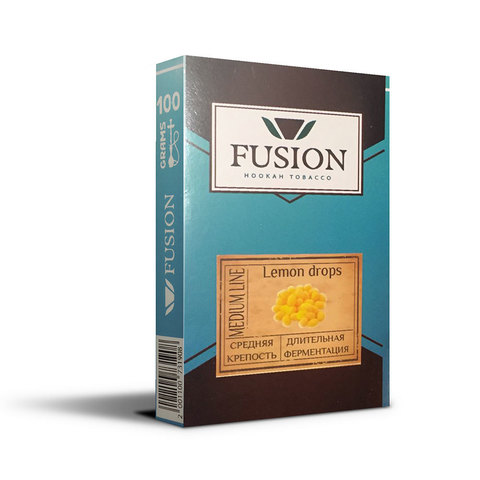Табак Fusion Medium Lemon Drops 100 г