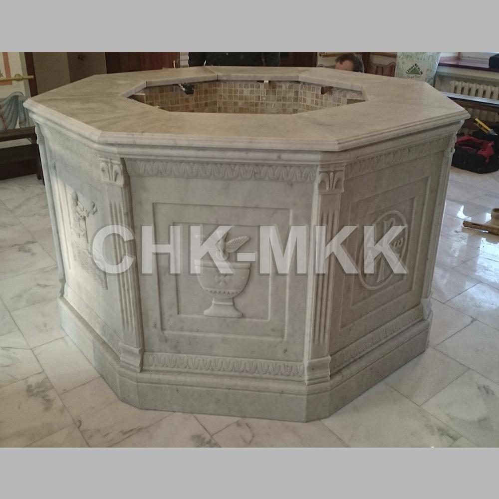 Купель для Голгофо-Распятского крестильного храма