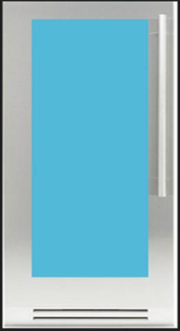 Холодильник для шуб Fhiaba KS8990FW 3 (левая навеска)