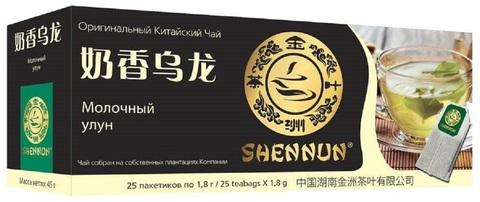Чай улун Shennun Молочный в пакетиках 25 шт