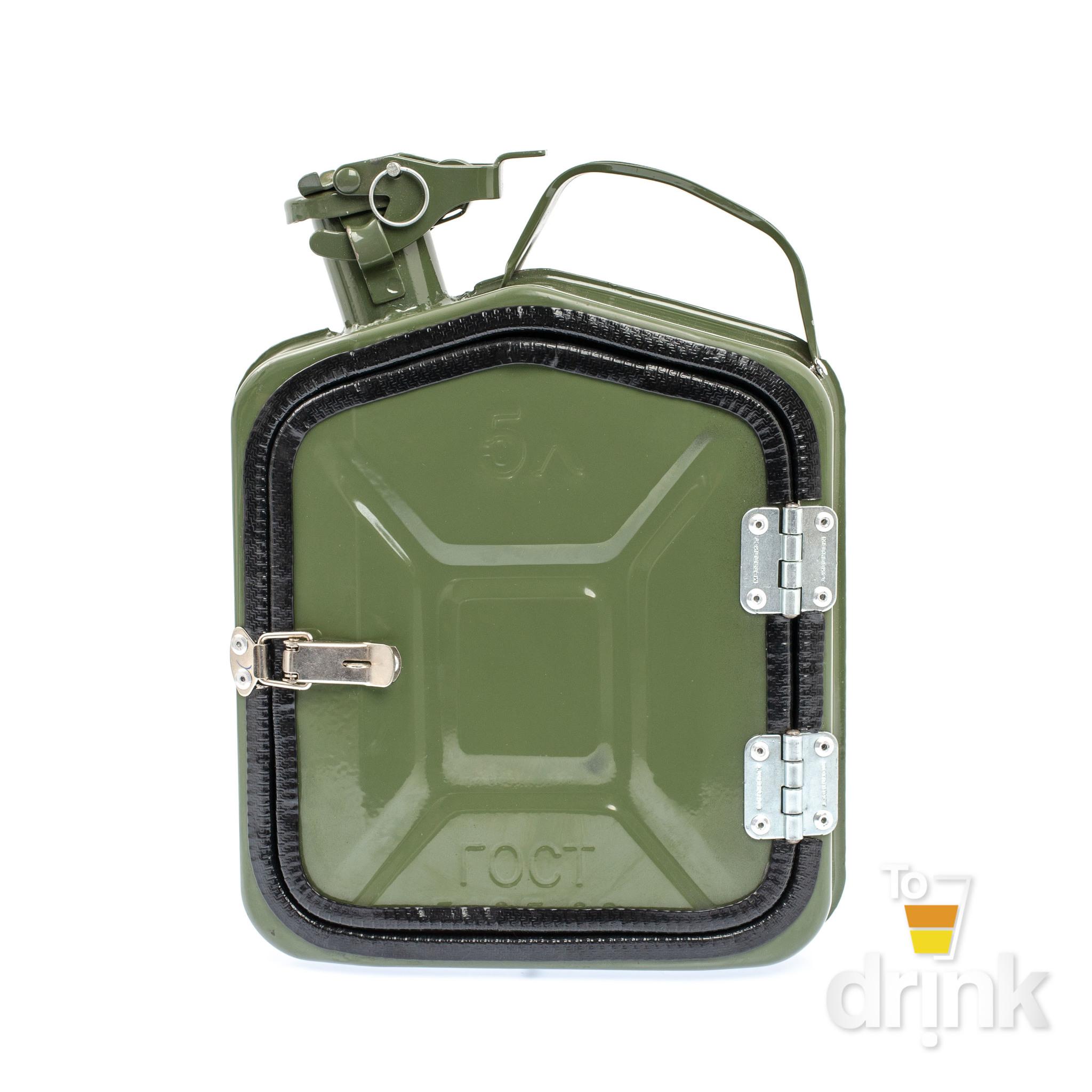 Бар-канистра «ГСМ» 5л, зеленая