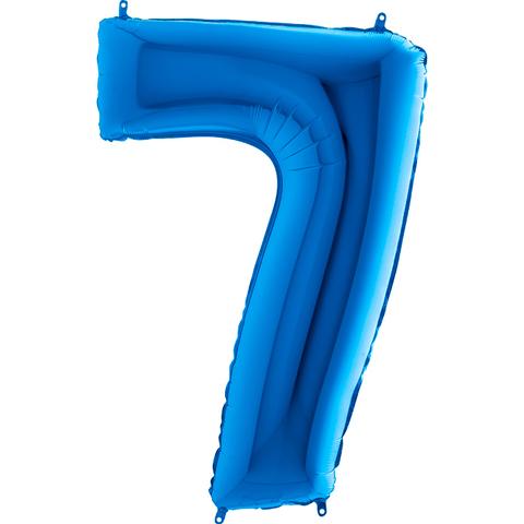 Цифра 7 (Синяя)