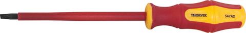 SDLI410 Отвертка стержневая диэлектрическая шлицевая VDE 1000V, SL4x100 мм